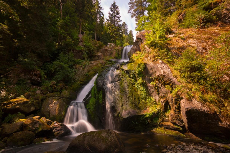 Foto der Triberger Wasserfälle